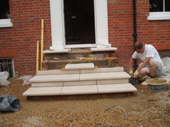 Cantuaria Stonemasons Project - Steps