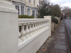 Cantuaria Stonemasons Project - Balustrade - Project