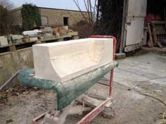 Cantuaria Stonemasons Project - Coping Stone - Project