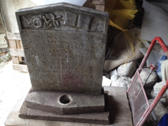 Cantuaria Stonemasons Project - Headstone Cleaning - Project