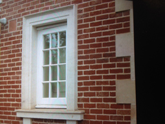 Cantuaria Stonemasons Project - Portland Stone Window and Lime Mortar