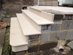Cantuaria Stonemasons Project - Portland Steps - Project