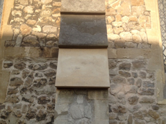 Cantuaria Stonemasons Project - Weathering Stone Before - Project
